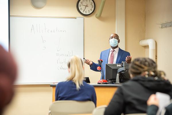 9/23/21 Professor Aimable Twagilimana in Literature Class