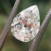 2.01ct Antique Pear Shape Diamond GIA G VS1 39