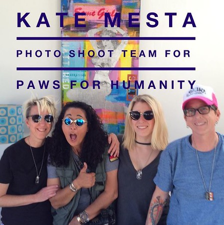 Paws For Humanity - Kate Mesta Photoshoot - Featuring Makena Max (Kate Mesta Family Member and Paws For Humanity Ambassador), Daisy, Lucky, and Bentley - Kate Mesta Private Home and Studio - Laguna Beach USA - Photography by Faye Sadou