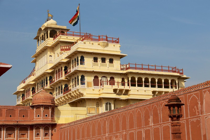 City Palace is a palace complex in Jaipur, India began between 1729 and 1732