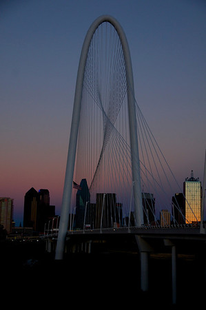 Trinity River Dallas Sunset