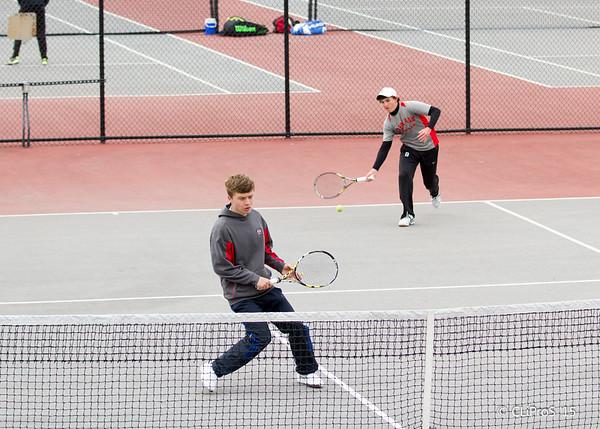 2015 H.S. Tennis District Playoffs - CD East H.S.