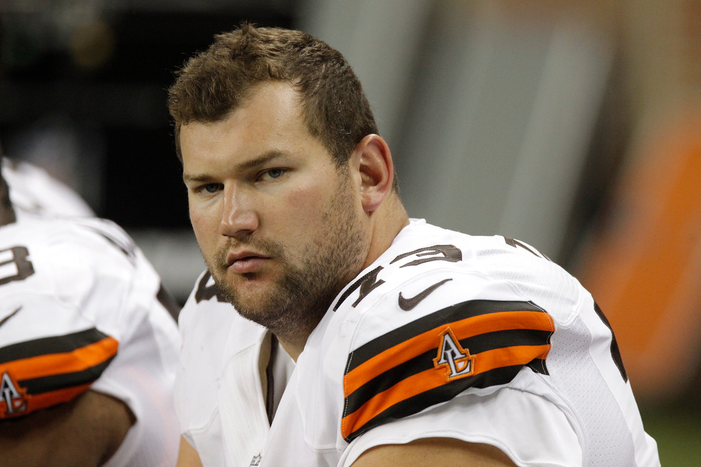 . Cleveland Browns offensive tackle Joe Thomas (73) during an NFL preseason football game against the Detroit Lions Friday, Aug. 10, 2012, in Detroit. (AP Photo/Duane Burleson)