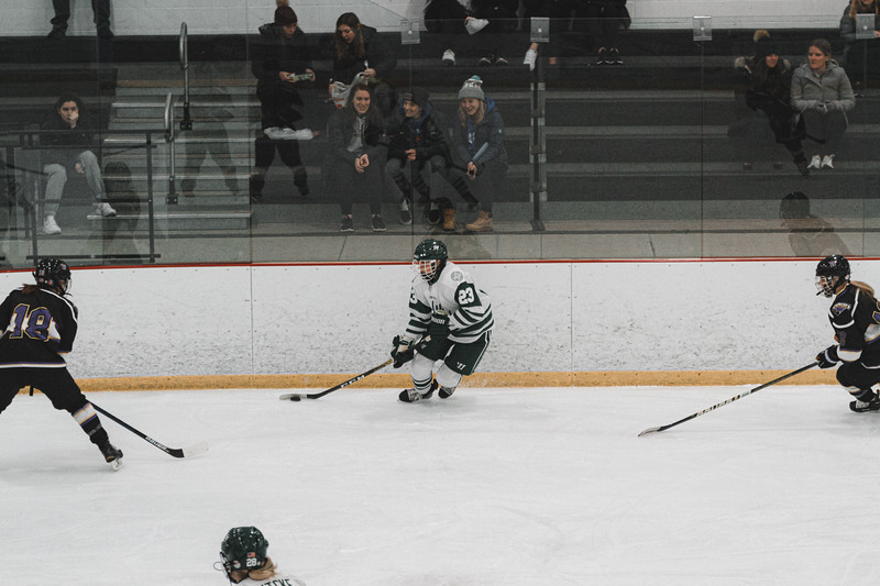 Holy Family Varsity Girls Hockey vs. Waconia, 1/9/20: Justina Valentini '23 (23)