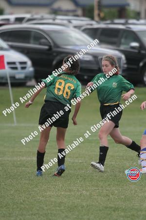 U13 Girls - Gloucester Impacts vs STMA United Allen