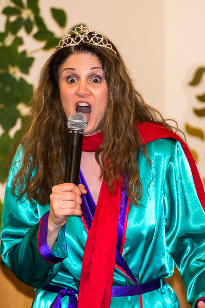 2018-Week 09 - Queen Esther Deploring her Fate to Speak with King Achashverosh. From Kol Emet's Adult Purim Spiel.jpg