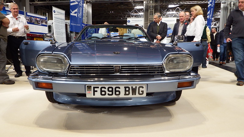 At the Classic Motor Show, NEC, 2017