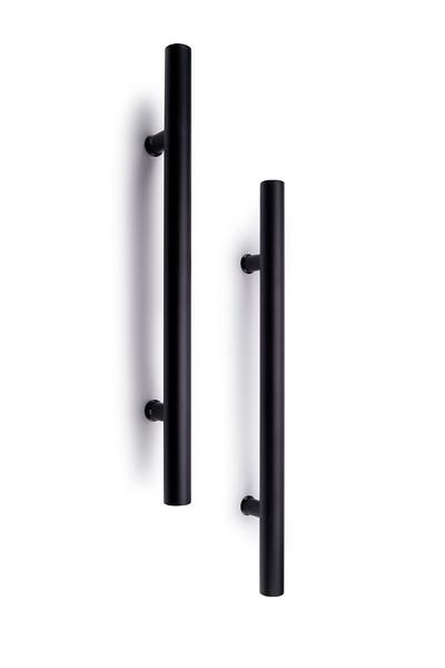 Gelmar Black Door Handle Set
