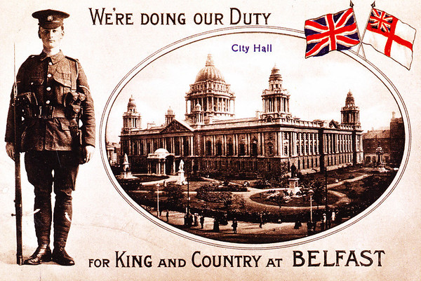Unionist Post Cards from the past.