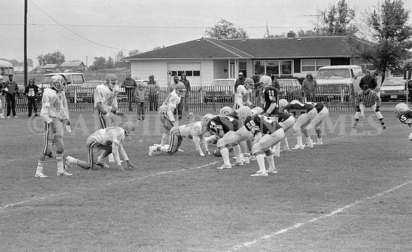 October 1986 Fairfield Eagles vs Great Falls Bison (JV)