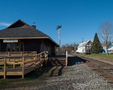 Coos County NH Train Depots