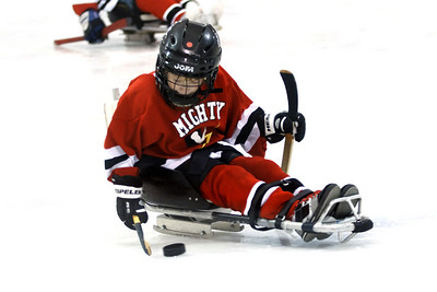 VS Mighty Barons Sled Hockey