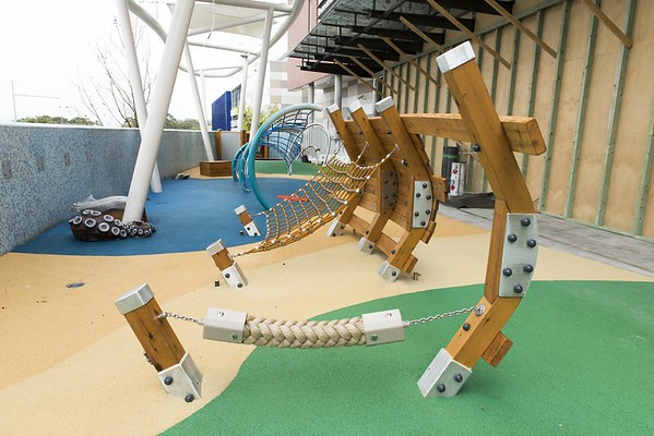 stockland shellharbour shopping centre outdoor playspace