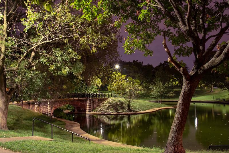 Foot Bridge in Benton Park