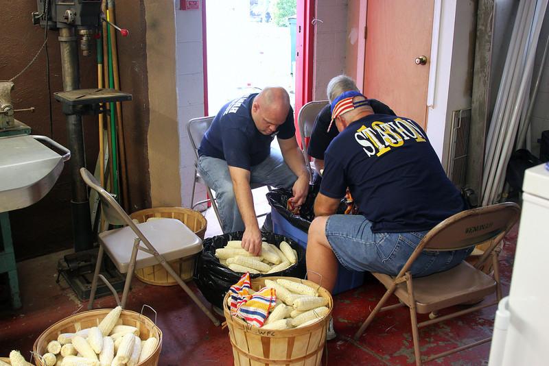 BBQ - Washing the corn.jpg