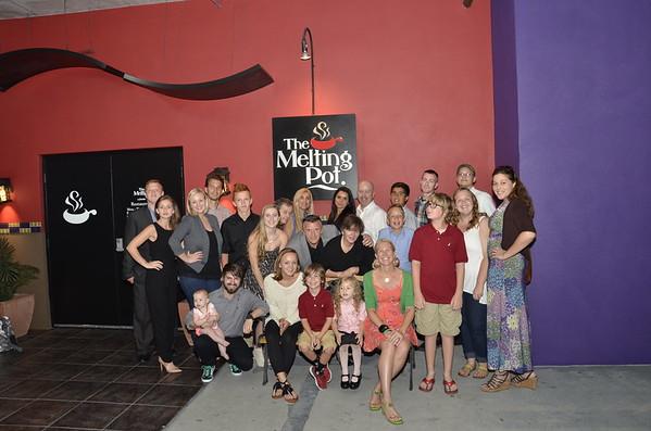 Sarasota Open Team Dinner