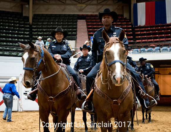 Cowboy Cops Benefit Rodeo  People