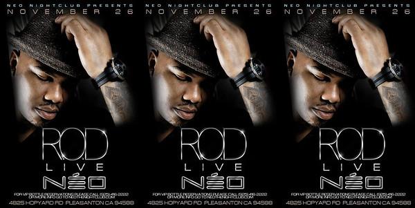 11/26 [Rod Live@NEO]