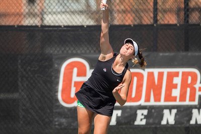 GWU Women's Tennis vs USC Upstate March 2018
