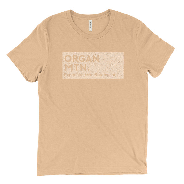 Organ Mountain Outfitters - Outdoor Apparel - Mens T-Shirt - EXSW x TOPO Tee - Sand Dune.jpg