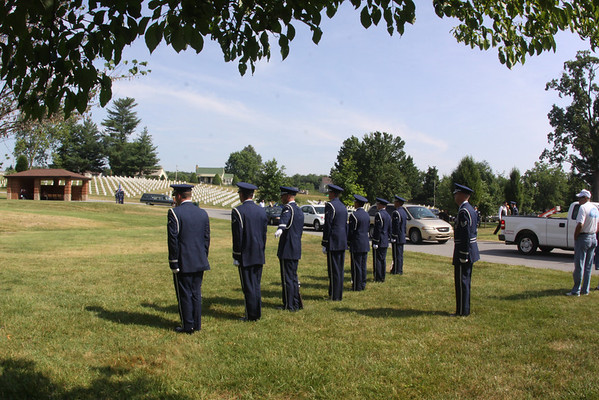 Airman White Receives Final Respects - June 2010