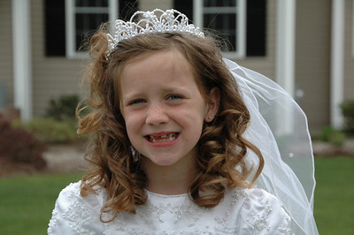 Brooke's First Communion 2009