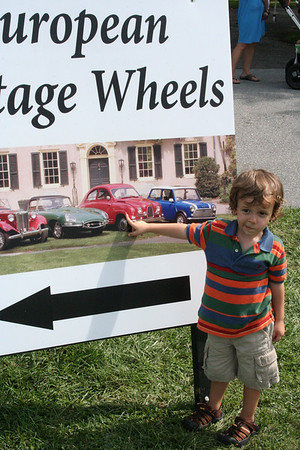 Car Show at Hagley Museum, September 14 2008