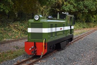 Ruislip Lido Railway & London, 27 October 2016
