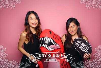 Kenny & Hui Min