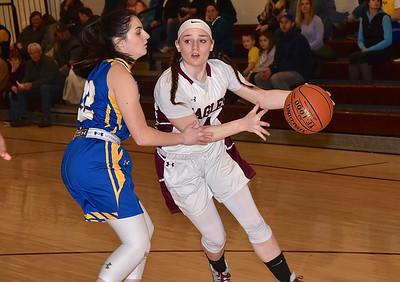 AMHS Girls Basketball vs Poultney photos by Gary Baker