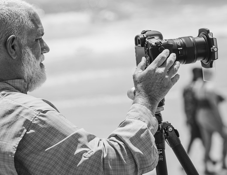"""""""An Old Man and His Camera"""""""