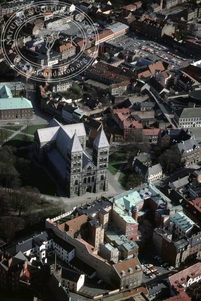 Lund, City center, Cathedral (4 May, 1989). | LH.0622