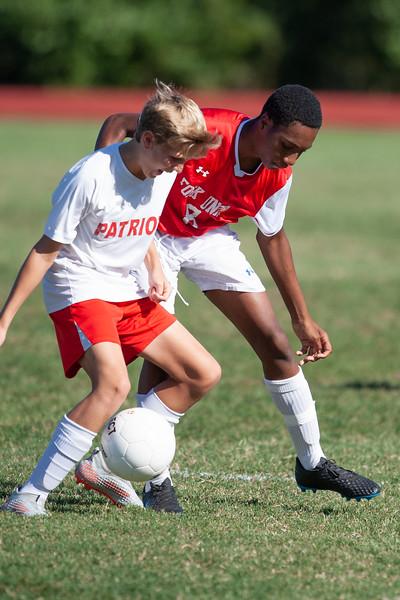 Prep Soccer vs. CVHAA Patriots - Sept 24