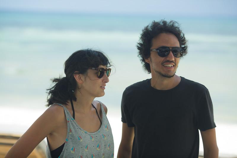 Yulene Olaizola y Ruben Imaz