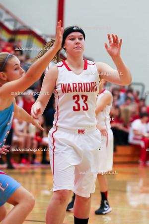 Varsity Girls Basketball v Lakeland