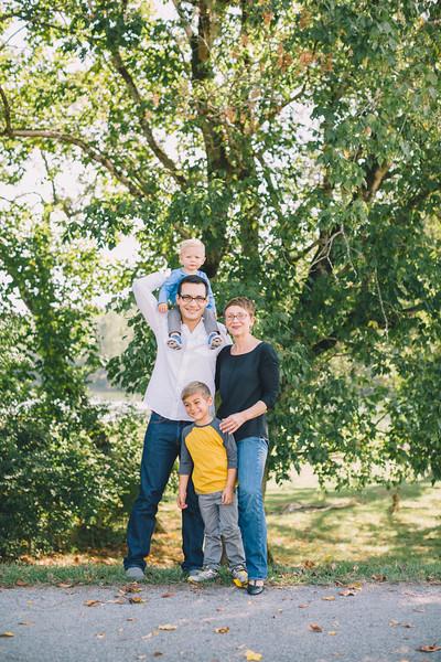 The Johnson-Crepieux Family