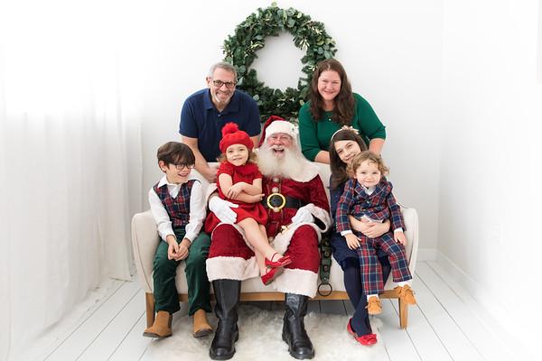 Santa Family Photos