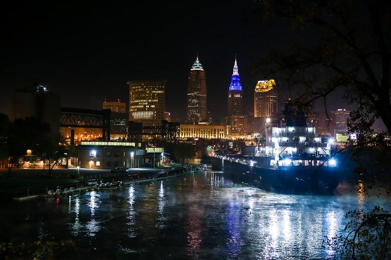 Cleveland Cargo Boats