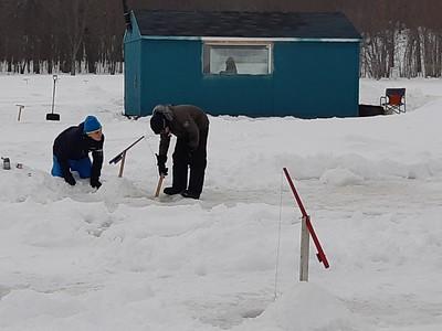 Pêche sur glace - 16 février