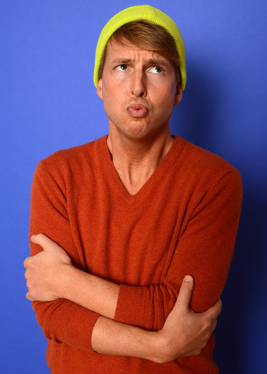 . Actor Jack McBrayer poses for a portrait during the 2014 Sundance Film Festival at the WireImage Portrait Studio at the Village At The Lift on January 19, 2014 in Park City, Utah.  (Photo by Larry Busacca/Getty Images)