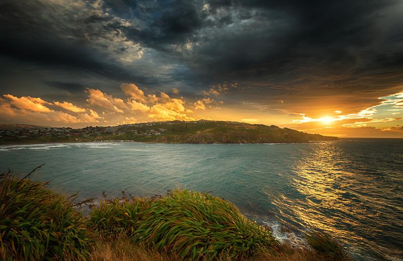 Sun Over The Bay