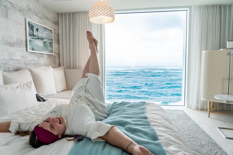 Serafina Beach Hotel room