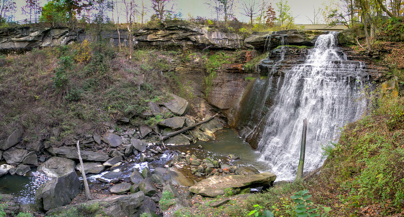 Brandyvine Falls at Cuyahoga National Park