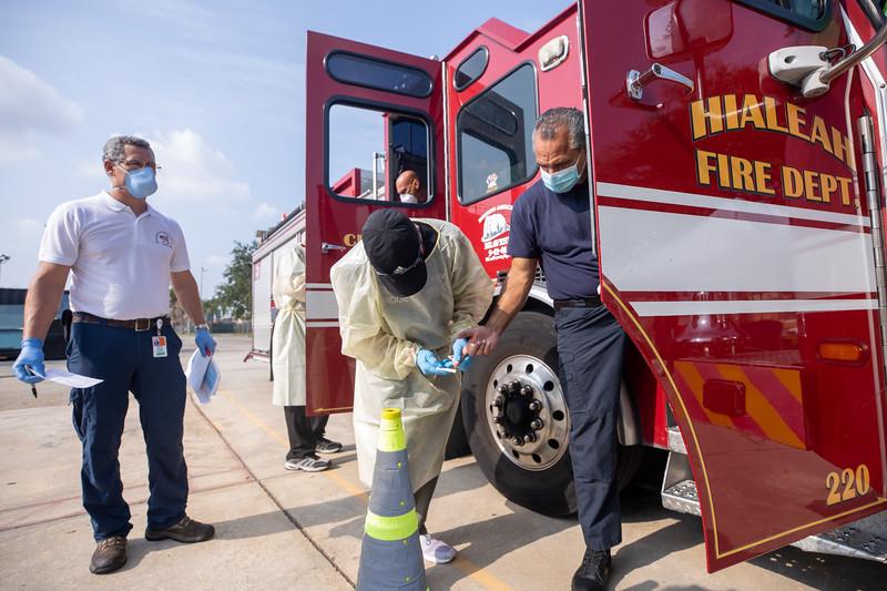 April 16, 2020 Gordon Center COVID Testing Hialeah Fire-135.jpg