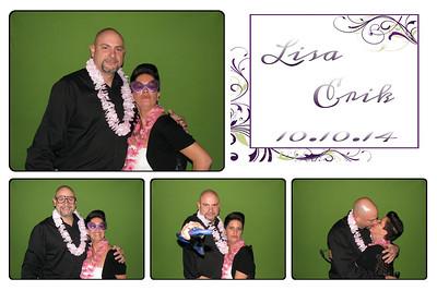 Lisa and Erik Wedding Grand Theatre