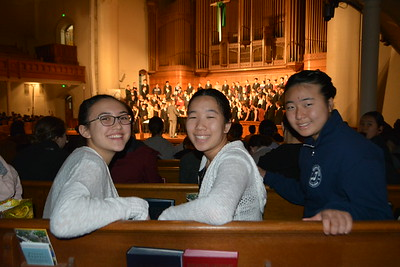 LCHS Choristers Sing for Spring