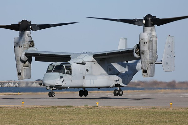 "US Marine Corps MV-22B ""Osprey"", Norfolk, 15Mar18"