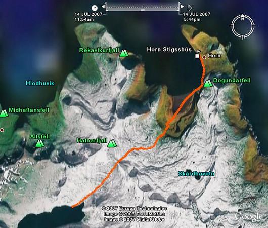 Dagur 1: Veiðileysufjörður - Horn
