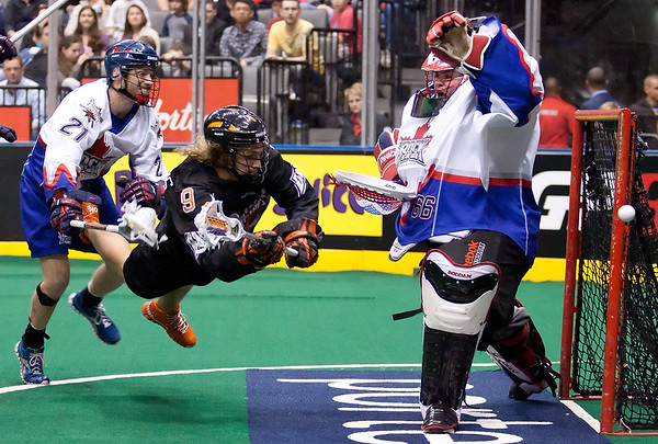 Buffalo Bandits @ Toronto Rock  05 May 2012 East Semi