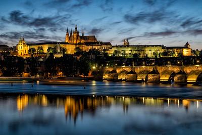 Charles Bridge, Prague, Czech Republic 2015